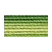 Мулине Gamma меланж, цвет Р-13 т.зеленый-яр.желтый (х/б, 8 м)