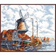 """Набор для вышивания крестом Палитра """"Голландский пейзаж (Л. Ван Стаатена)"""""""