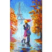 """Канва/ткань с нанесенным рисунком Матрёнин посад """"Двое в Париже"""""""