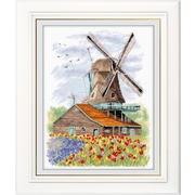 """Набор для вышивания крестом Овен """"Ветряная мельница. Голландия"""""""