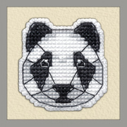 """Набор для вышивания крестом Овен """"Значок. Панда"""""""