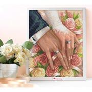 """Набор для выкладывания мозаики Алмазная живопись """"В день свадьбы"""""""
