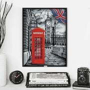"""Набор для выкладывания мозаики Алмазная живопись """"В Лондоне"""""""