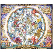 """Набор для вышивания крестом Марья искусница """"Карта созвездий"""""""