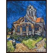 """Набор для вышивания крестом Палитра """"Церковь в Овере (В. Ван Гог)"""""""