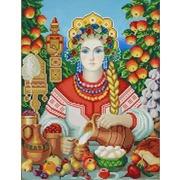 """Канва/ткань с нанесенным рисунком Конёк """"Макошь"""""""