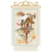 """Набор для вышивания крестом Риолис """"Дача. Зима"""""""