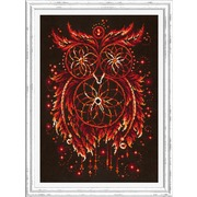 """Набор для вышивания крестом Чудесная игла """"Пламя души"""""""