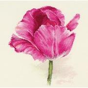 """Набор для вышивания крестом Алиса """"Тюльпаны. Малиновое сияние"""""""