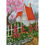 """Набор для выкладывания мозаики Вышиваем бисером """"Любимый дом"""""""