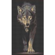 """Набор для вышивания крестом Каролинка """"Хищники. Волк"""""""