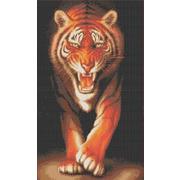 """Набор для вышивания крестом Каролинка """"Хищники. Тигр"""""""
