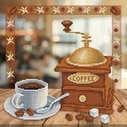 """Канва/ткань с нанесенным рисунком М.П. Студия """"Аромат кофе"""""""