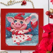 """Набор для выкладывания мозаики Алмазная живопись """"Веселая свинка"""""""