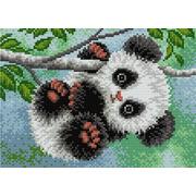"""Набор для выкладывания мозаики Вышиваем бисером """"Маленькая панда"""""""