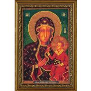 """Набор для вышивания бисером Радуга бисера (Кроше) """"Ченстоховская Богородица"""""""