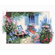 """Набор для вышивания крестом Luca-S """"Цветочный сад"""""""