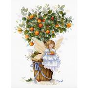 """Набор для вышивания крестом М.П. Студия """"Апельсиновая фея"""""""