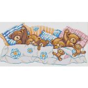 """Канва/ткань с нанесенным рисунком Конёк """"Сладкие сны"""""""