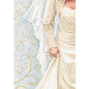 """Набор для вышивания крестом Luca-S """"Невеста"""""""