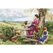 """Гобелен Luca-S """"Весенние цветы"""""""