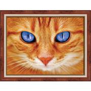 """Набор для выкладывания мозаики Алмазная живопись """"Синеглазый кот"""""""