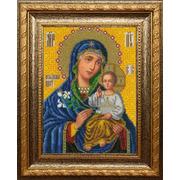 """Набор для вышивания бисером Вышиваем бисером """"Икона Божией Матери Неувядаемый Цвет"""""""