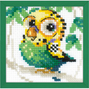 """Набор для вышивания крестом Риолис """"Волнистый попугайчик"""""""
