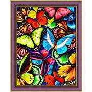 """Набор для выкладывания мозаики Алмазная живопись """"Яркие бабочки"""""""