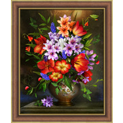 """Набор для выкладывания мозаики Алмазная живопись """"Цветочное ассорти"""""""