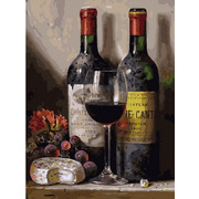 """Набор для раскрашивания Белоснежка """"Вино, сыр и виноград"""""""