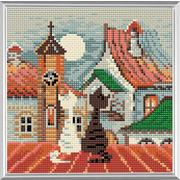 """Набор для выкладывания мозаики Риолис """"Город и кошки. Весна"""""""