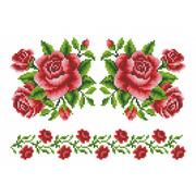 Флизелин пришивной/клеевой Каролинка Рисунок-схема