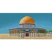 """Канва/ткань с нанесенным рисунком Конёк """"Мечеть Аль-Акса"""""""