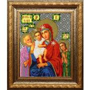 """Набор для вышивания бисером Вышиваем бисером """"Икона Божией Матери Трех радостей"""""""