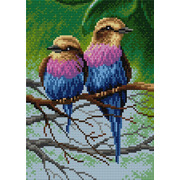 """Набор для выкладывания мозаики Вышиваем бисером """"Птицы"""""""