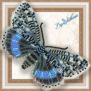 """Набор для вышивания бисером Вдохновение """"Ленточница голубая"""""""