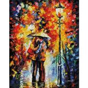 """Набор для выкладывания мозаики Белоснежка """"Поцелуй под дождем"""""""