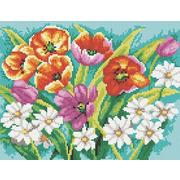 """Набор для выкладывания мозаики Белоснежка """"Прекрасные цветы"""""""