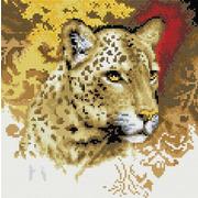 """Набор для выкладывания мозаики Белоснежка """"Портрет леопарда"""""""