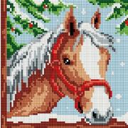 """Набор для выкладывания мозаики Белоснежка """"Белогривая лошадка"""""""