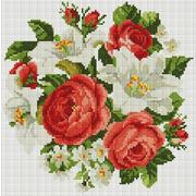 """Набор для выкладывания мозаики Белоснежка """"Розы и лилии"""""""
