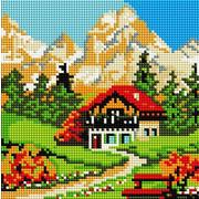 """Набор для выкладывания мозаики Белоснежка """"Домик у горы"""""""