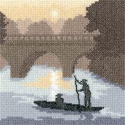 """Набор для вышивания крестом Heritage """"На реке"""""""