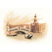 """Набор для вышивания крестом Heritage """"Мост Риальто"""""""