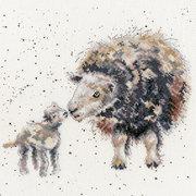"""Набор для вышивания крестом Bothy Threads """"Ewe And Me"""" (Мы с овечкой)"""