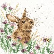 """Набор для вышивания крестом Bothy Threads """"The meadow"""" (Полянка)"""