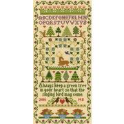 """Набор для вышивания крестом Bothy Threads """"Green Tree"""" (Зеленое дерево)"""