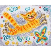 """Набор для вышивания крестом Марья искусница """"Солнечный кот"""""""