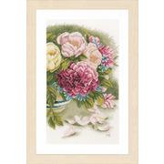 """Набор для вышивания крестом LANARTE """"Peony roses"""""""